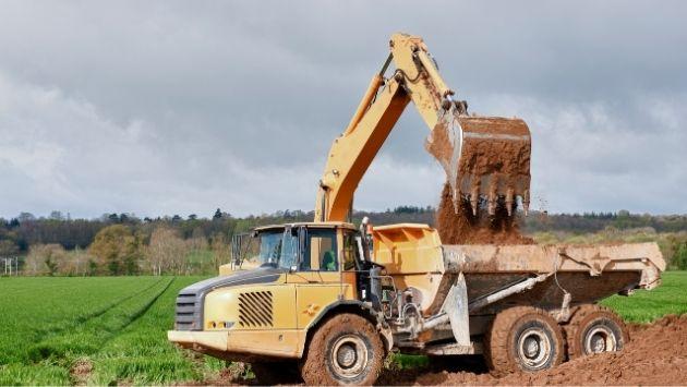 Gépi földmunka - szolgáltatás